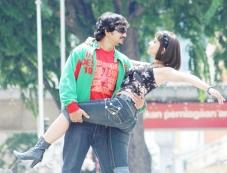 Manotej with Aditi Sharma Photos
