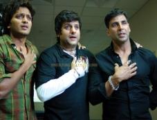 Akshay Kumar, Fardeen Khan and Ritesh Deshmukh Photos