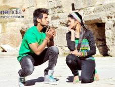 Aadi and Shanvi Photos