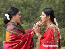 Actress Vinaya Prasad in Kannada Movie Adhikaara Photos