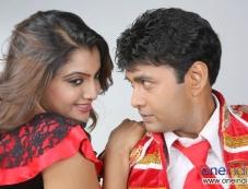 Madhuri and Sharan in Kannada Movie Rambo Photos