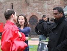 Saint Dracula 3D On the Sets Photos