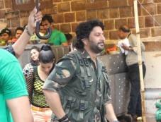 Arshad Warsi at on the sets of Calling Mr Joe B Carvalho Photos