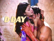 Hot Shruthi Hassan and Arjun Rampal in D Day Photos
