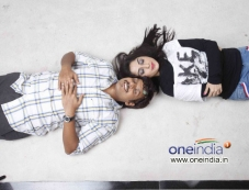 Akul Balaji and Aishwarya Nag in Kannada Film Loosugalu Photos