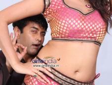 Sharan and Asmita Sood in Kannada Movie Victory Photos