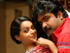 Bhavana and Anoop Menon in Malayalam Movie Angry Babies in Love Photos