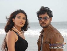 Kavya Shetty and Mahesh in Kannada Movie I am in Love Photos
