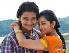 Rakesh and Tejaswini in Kannada Film Nandagokula Photos