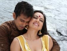 Sana Khan and Aravind Akash in Telugu Movie Gajjala Gurram Photos