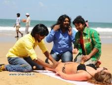 Srikanth, Komal and Tarun Chandra in Kannada Movie Goa Photos