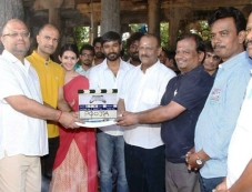Anegan Movie Launch Photos