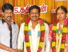 Bala at Director Kathir Wedding Photos Photos
