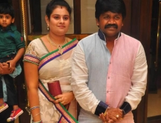 Celebs at Actor Bharath and Jesslie wedding reception Photos