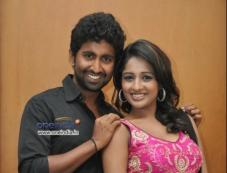 Mahendran, Amitha Rao at First Love Audio Launch Photos