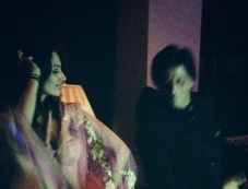 Malaika Arora Khan and Shahrukh Khan in Eid bash Photos