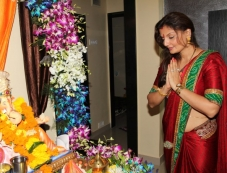 RT Chawla's Ganesh Chaturthi 2013 celebration Photos