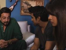 Sanjay Dutt, Ram Charan Teja and Priyanka Chopra still from Zanjeer 2013 Photos