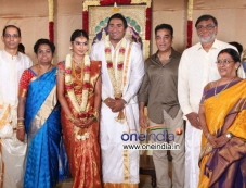 TG Thyagarajan son Sendhil Dhasha Wedding Photos Photos