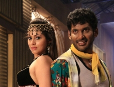 Vishal and Sada in Madha Gaja Raja Photos