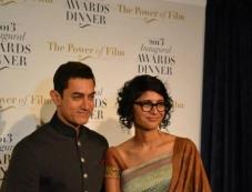 Aamir Khan along with his wife & filmmaker Kiran Rao Photos
