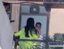 Aishwarya Rai Bachchan celebrates Karwa Chauth at her home in Mumbai Photos
