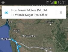 Pune to Chennai map route Photos