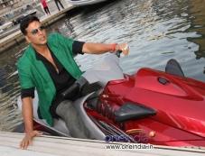 Akshay Kumar rides jet-ski for 'Boss' promotion in Dubai Photos