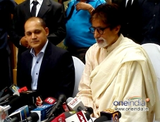 Amitabh Bachchan 71st Birthday Press Conference Photos