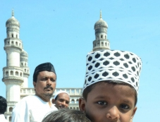Eid prayers at Mir Alam-Eidgah and Charminar Photos