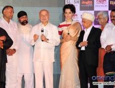 Kangana Ranaut during her Rajjo film Music Launch Photos