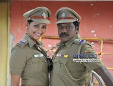 Karunas, Sanjana Singh in Ragalaipuram Photos