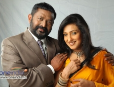 Lal and Rituparna Sengupta in Malayalam Movie Kadhaveedu Photos