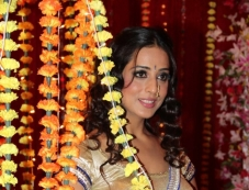 Mahi Gill during the wrap up shoot of film Gangs of Ghost Photos