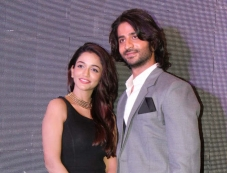 Anaika Soti and Puneet Singh Ratn during the Satya 2 theatrical trailer launch Photos