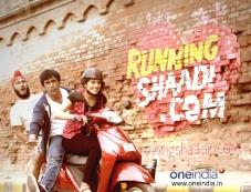 Running Shaadi.com first look still Photos