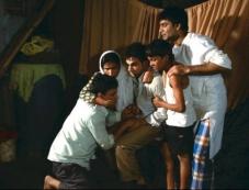 Raj Kumar Yadav still from film Shahid Photos
