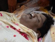 Srihari's Last Rites At Bachupally Photos