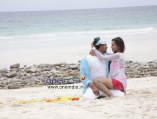 Srinagar Kitty and Tia Bajpai in Kannada Movie Droha Photos