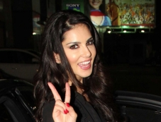 Sunny Leone spotted at a private event Photos