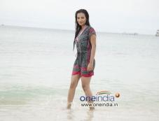 Tia Bajpai in Kannada Film Droha Photos