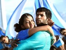 Vishal and Lakshmi Menon in Palnadu Movie Photos