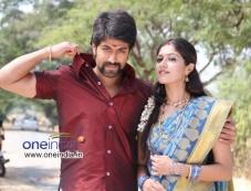 Yash and Meghana Raj in Kannada Movie Raja Huli Photos