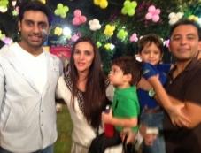 Abhishek Bachchan's daughter Aaradhya Bachchan birthday bash 2013 Photos