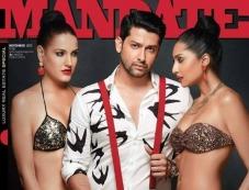 Aftab Shivdasani on the cover of Mandate magazine's November 2013 issue Photos