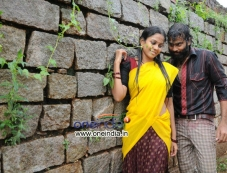 Chaitanya Krishna and Chandini still from Kalicharan Movie Photos
