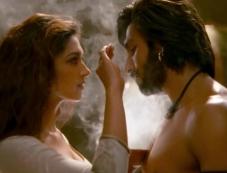 Deepika Padukone and Ranveer Singh still from film Ram Leela Photos
