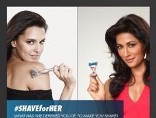 Neha Dhupia and Chitrangda Singh's Print Ads for Gillette Venus razor for Women Photos