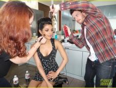 Priyanka Chopra's Just Jared photo shoot behind the scenes Photos