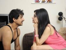 Pushkar Jog and Armeena Rana Khan's film Huff! - It's Too Much still Photos
